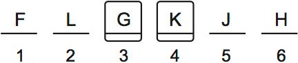 LSAT Preptest 71, Game 1, Question 1, Diagram 2