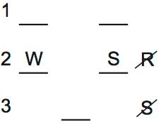 LSAT PrepTest 70, Game 3, Question 15, Diagram 2