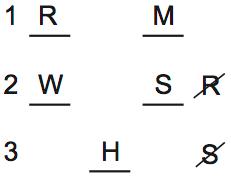 LSAT PrepTest 70, Game 3, Question 15, Diagram 4