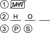 LSAT Preptest 75, Game 2 Diagram 2