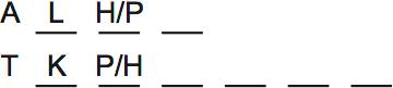 LSAT Preptest 63, Game 1 Setup, Diagram 3