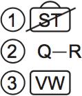 LSAT Preptest 76, Game 1 Diagram 1