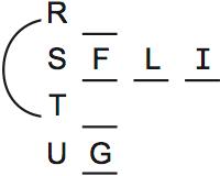 LSAT Preptest 71, Game 2, Question 10, Diagram 3