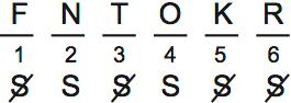 LSAT Preptest 71, Game 3, Question 15, Diagram 2