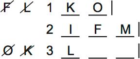 LSAT Preptest 64, Game 4 Setup, Diagram 6