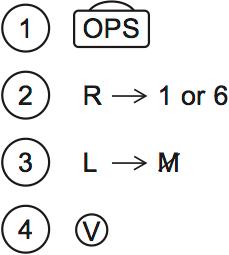 LSAT Preptest 77, Game 2 Setup, Diagram 3
